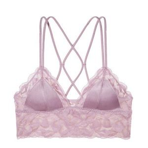 PINK Victoria's Secret   Shine Lace Bralette